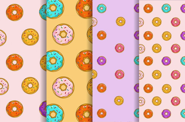 Set di modelli di dessert