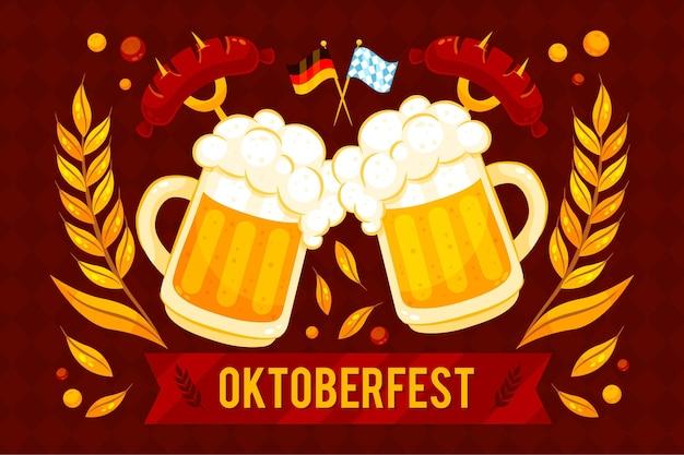 Sfondo dettagliato dell'oktoberfest