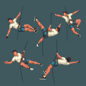 Set scalatore dettagliato