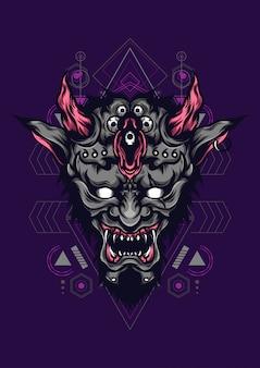 Il diavolo affronta la geometria sacra