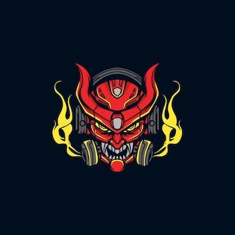Mascotte da gioco del diavolo