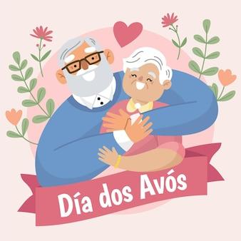 Illustrazione dia dos avos