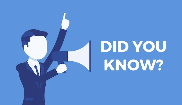 Sapevi che l'annuncio del megafono?
