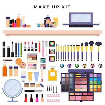 Cosmetici decorativi diversi