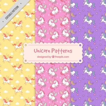 Diversi modelli unicorno
