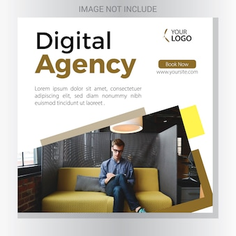 Banner di agenzia digitale