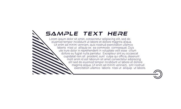 Titoli di callout digitali set di hud futuristico modello di cornice fantascientifica elemento di layout per infografica brochure web banner moderni di terzo inferiore per presentazione isolato su bianco