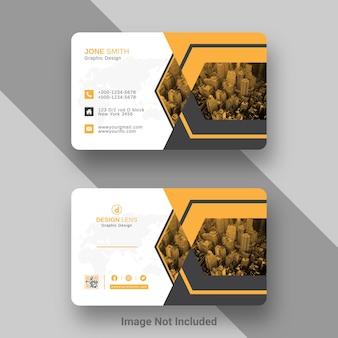 Modello di progettazione di biglietti da visita aziendali digitali