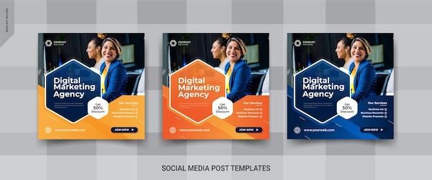 Banner instagram dell'agenzia di marketing digitale