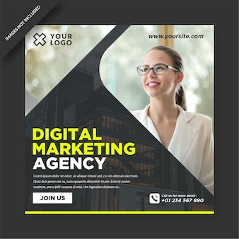 Modello di progettazione instagram agenzia di marketing digitale