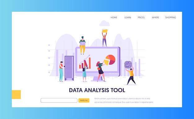 Pagina di destinazione della ricerca sull'analisi del marketing digitale