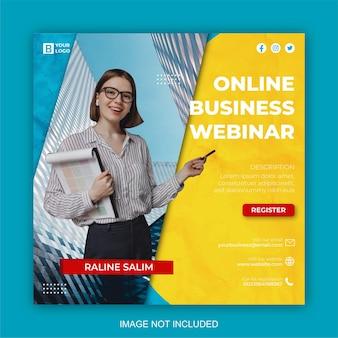 Modello di progettazione di post di marketing digitale e social media aziendale