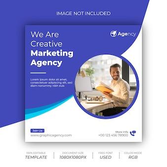 Post design di marketing digitale