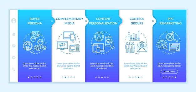 Modello di onboarding della strategia di marketing digitale