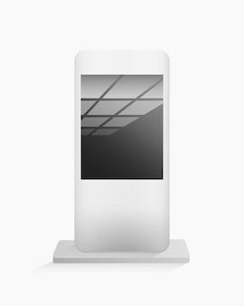 Mockup di supporto per schermo digitale