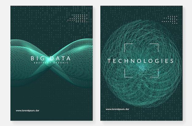Fondo astratto di tecnologia digitale. intelligenza artificiale,
