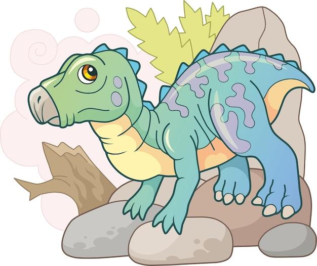 Iguanodon dinosauro