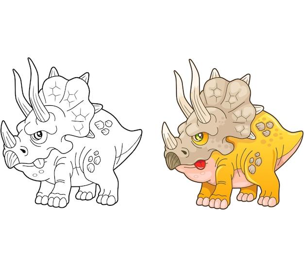 Triceratopo dinosauro