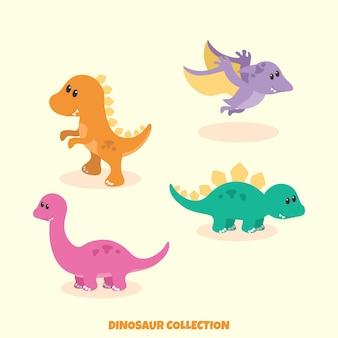 Collezione di dinosauri