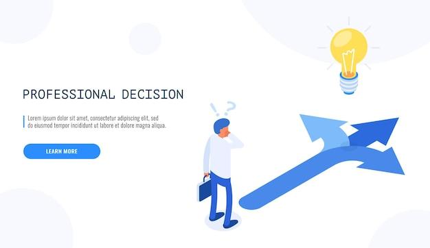La direzione sceglie le opzioni