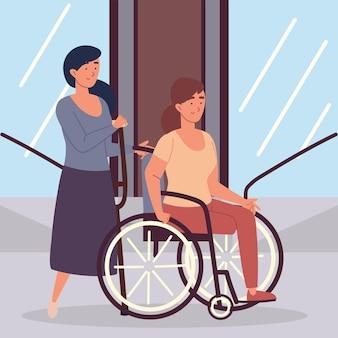 Donne disabili amputate