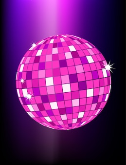 Palla da discoteca retrò