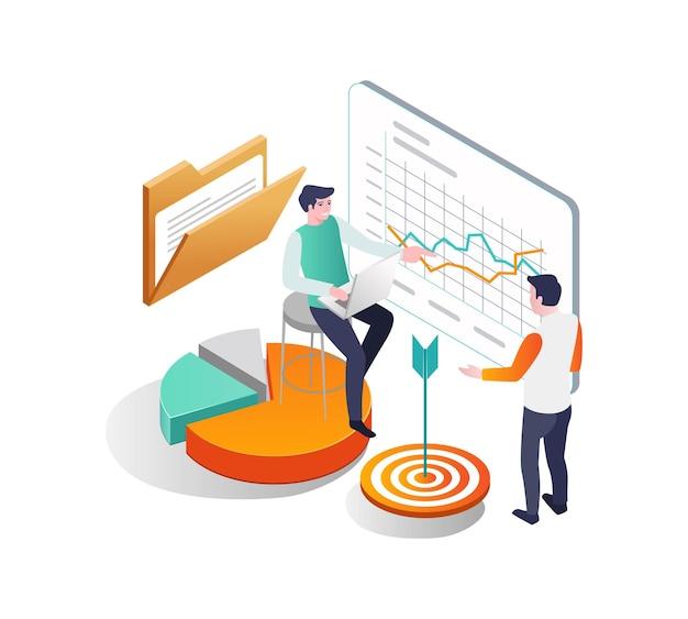 Discussione sullo sviluppo e la crescita del business