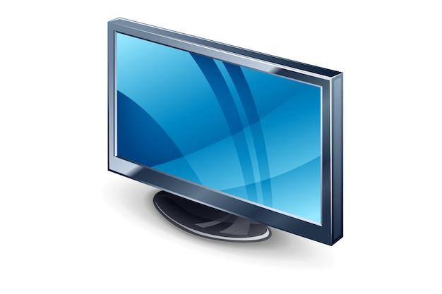 Visualizza l'illustrazione della tv