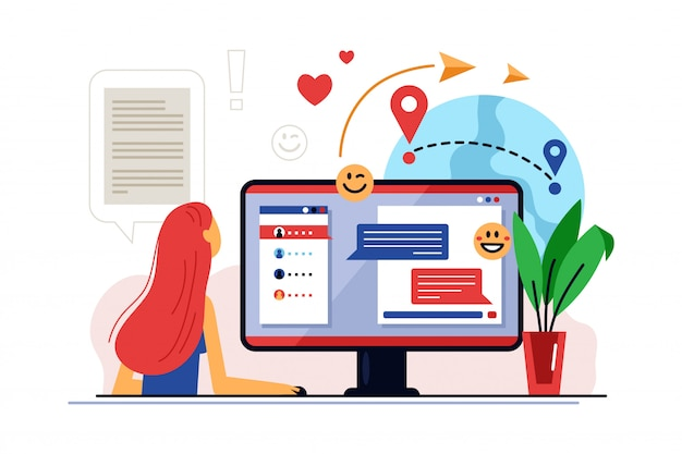 Educazione a distanza. corso di formazione online e apprendimento a distanza sulla tecnologia dell'educazione digitale.