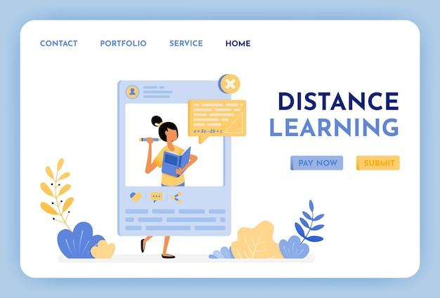 L'apprendimento a distanza futuro dell'istruzione