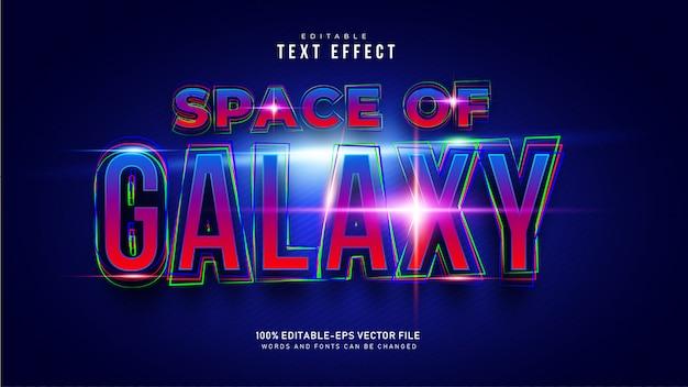 Distorci l'effetto del testo