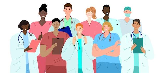 Gruppo eterogeneo di medici