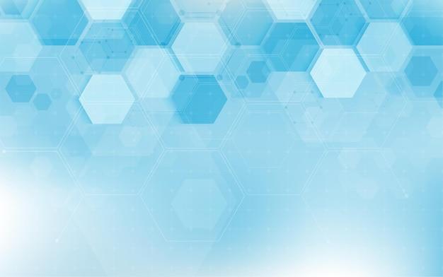 Struttura del codice della sequenza digitale del dna con il concetto di scienza bagliore e lo sfondo della nanotecnologia