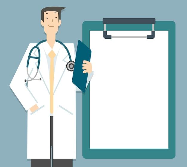 Segnalazione dei consigli sulla salute del medico