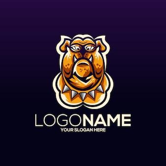 Disegno del logo del cane