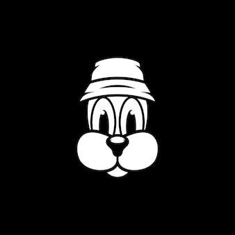 Disegno della mascotte del cane
