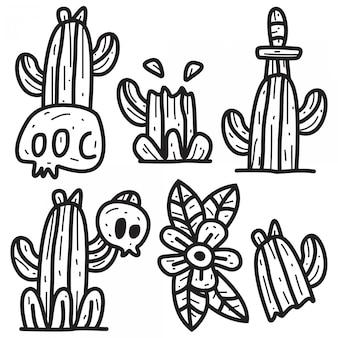 Illustrazione di progettazione del fumetto di scarabocchio