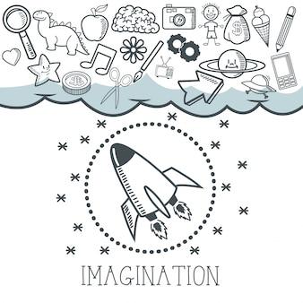 Disegno dell'icona di doodle