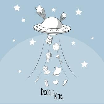 Doodle cartoni animati per bambini