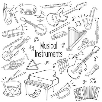 Doodle strumenti musicali