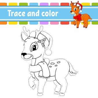 Punto per punto gioco punto per punto disegna una linea per i bambini foglio di lavoro attività libro da colorare