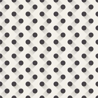 Motivo a punti, sfondo geometrico astratto. illustrazione di stile creativo ed elegante