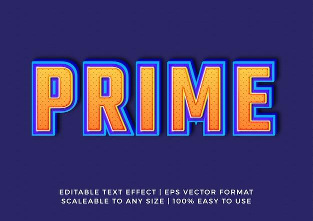 Modello punteggiato effetto di testo titolo 3d pop art