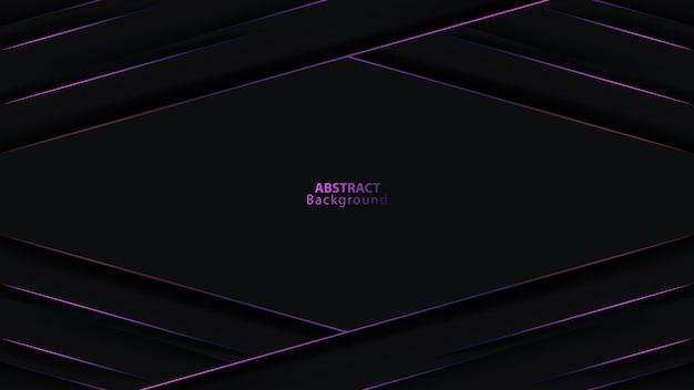 Doppio fondo futuristico della maglia del cerchio di direzione della freccia metallica grigio scuro viola