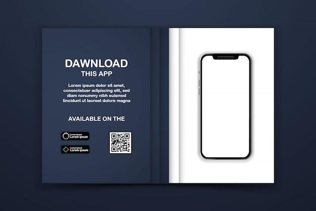 Pagina di download dell'app mobile