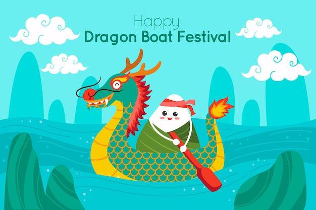 Dragon boat sfondo