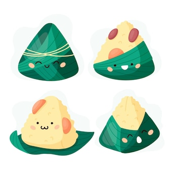 Dragon pack zongzi pack concept