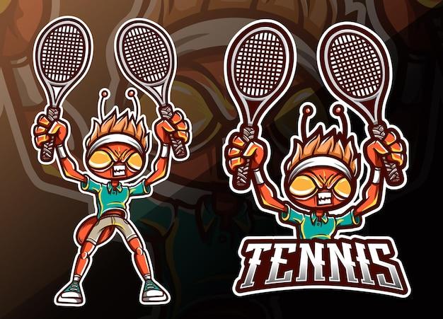 Insetto della mosca del drago che gioca l'illustrazione di sport di pingpong