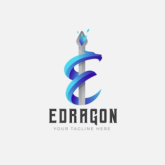 Logo sfumato del drago