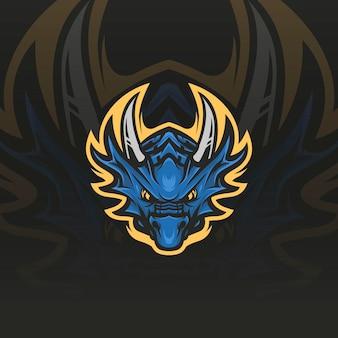 Illustrazione della mascotte del drago